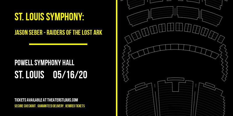 St. Louis Symphony: Jason Seber - Raiders of the Lost Ark [POSTPONED] at Powell Symphony Hall